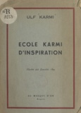 Ulf Karmi et Lancelot Ney - École Karmi d'inspiration.