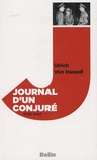 Ulrich von Hassell - Journal d'un conjuré - 1938-1944.
