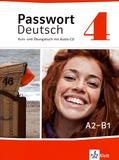 Ulrike Albrecht et Christian Fandrych - Passwort Deutsch 4 A2-B1 - Kurs- une Übungsbuch. 1 CD audio