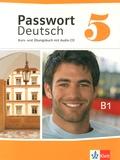 Ulrike Albrecht et Christian Fandrych - Passwort Deutsch 5 - Kurs- une Übungsbuch. 1 CD audio