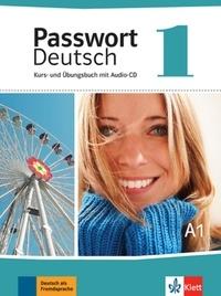 Ulrike Albrecht et Christian Fandrych - Passwort Deutsch : Kurs und Übungsbuch - Band 1. 1 CD audio