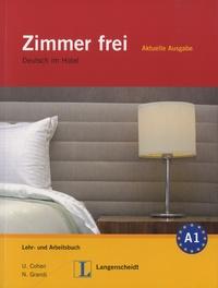 Ulrike Cohen et Nicoletta Grandi - Zimmer Frei - A1 - Aktuelle Ausgabe Deutsch Im Hotel. 3 CD audio