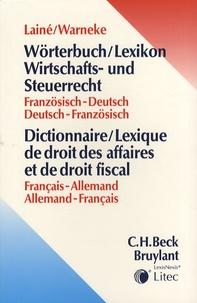 Openwetlab.it Dictionnaire/lexique de droit des affaires et de droit fiscal français-allemand et allemand-français Image