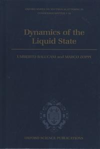 Dynamics of the Liquid State - Umberto Balucani | Showmesound.org