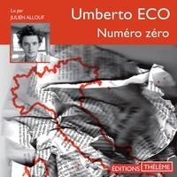 Umberto Eco et Julien Allouf - Numéro zéro.