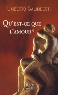 Umberto Galimberti - Qu'est-ce-que l'amour ?.