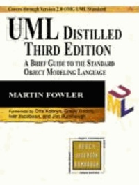 UML Distilled - A Brief Guide to the Standard Object Modeling Languange.