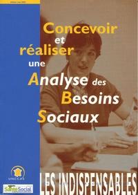 UNCCAS - Concevoir et réaliser une analyse des besoins sociaux.