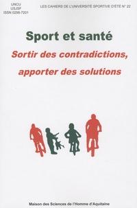 Sport et santé- Sortir des contradictions, apporter des solutions -  UNCU |