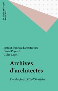 Unesco - Archives d'architectes - État des fonds, XIXe-XXe siècles.