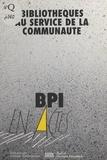 Unesco et Abdelwahled Allouche - Bibliothèques au service de la communauté - Compte rendu du Colloque des 28 et 29 janvier 1993 organisé par la Bibliothèque Publique d'Information, avec la participation de l'UNESCO, de la Direction du Livre et de la Lecture et de l'APPEL.