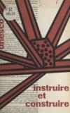 UNESCO - Département Education - Instruire et construire.