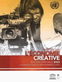 Deedr.fr Rapport sur l'économie créative édition spéciale 2013 - Elargir les voies du développement local Image