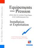 Uniclima - Equipements sous pression - Installation et exploitation.