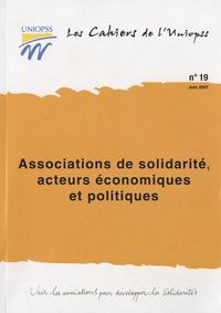 UNIOPSS - Associations de solidarité, acteurs économiques et politiques.