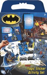 Uniset - Batman Magic Sticker Activity Set.