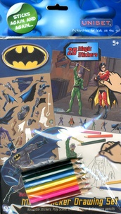 Uniset - Batman Magic Sticker Drawing Set.