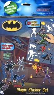 Uniset - Batman Magic Sticker Set.