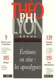 Isabelle Chareire - Théophilyon N° 14 Volume 1, Mars : Ecritures en crise : les apocalypses.
