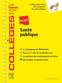 Universitaire des enseignants Collège - Fiches Santé publique - Les fiches ECNi et QI des Collèges.