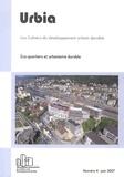 Antonio Da Cunha et Cyria Emelianoff - Urbia N° 4 Juin 2007 : Eco-quartiers et urbanisme durable.