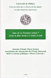 Université de Poitiers - Jean de La Fontaine juriste ? - Lecture de fables choisies à la lumière du droit.