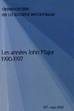 Jean-Philippe Fons - Observatoire de la société britannique N° 7, Mars 2009 : Les années John Major 1990-1997.