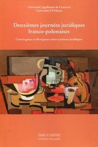 Deuxièmes journées juridiques franco-polonaises - Convergence et divergence entre systèmes juridiques.pdf