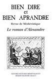 Aimé Petit - Bien Dire et Bien Aprandre N° 6 : Le roman d'Alexandre.