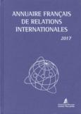 Université Panthéon-Assas - Annuaire français de relations internationales - Volume XVIII.