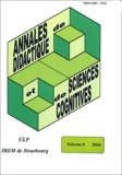 François Pluvinage et  Collectif - Annales de didactique et de sciences cognitives N° 9/2004 : .