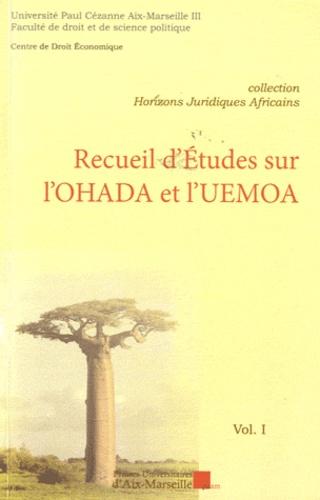Université Paul Cézanne - Recueil d'études sur l'OHADA et l'UEMOA.