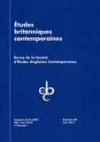 Christine Reynier - Etudes britanniques contemporaines N° 40, Juin 2011 : .