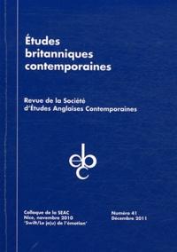 """Marc Porée - Etudes britanniques contemporaines N° 41, Décembre 2011 : Colloque de la SEAC, Nice, novembre 2010 """"Swift, le je(u) de l'émotion""""."""