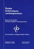 Christine Reynier - Etudes britanniques contemporaines N° hors série Automn : Conversation in Virginia Woolf's Works.