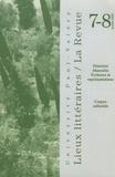 Christine Planté et Marie-Eve Thérenty - Lieux Littéraires / La Revue N° 7-8, 2003 : Féminin/Masculin - Ecritures et  représentations.