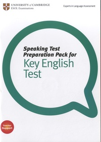 University of Cambridge - Speaking Test Preparation Pack for Key English Test. 1 DVD