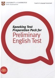 University of Cambridge - Speaking Test Preparation Pack for Preliminary English Test. 1 DVD