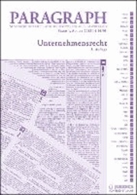 Unternehmensrecht - Paragraph. Seitenweise österreichische Rechtstexte für Studium und Praxis.