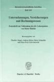 Unternehmungen, Versicherungen und Rechnungswesen - Festschrift zur Vollendung des 65. Lebensjahres von Dieter Rückle.