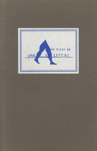Urdla - Aux pieds de la lettre - Une exposition de l'Urdla.