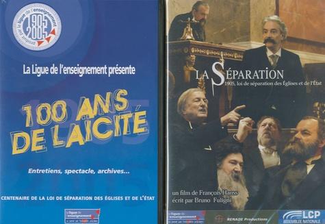 François Hanss - La Séparation / 100 ans de laïcité. 3 DVD