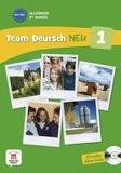Ursula Esterl et Elke Körner - Allemand 1re année A1-A2 - Livre de l'élève. 1 CD audio