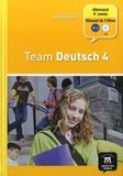 Ursula Esterl et Elke Körner - Allemand 4e année Palier 2 Team Deutsch 4. 1 CD audio