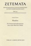 Ursula Gärtner - Phaedrus - Ein Interpretationskommentar zum ersten Buch der Fabeln.