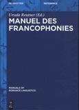 Ursula Reutner - Manuel des francophonies.