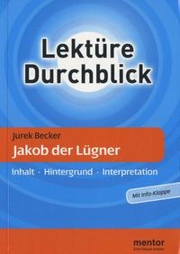 Ursula Zierlinger - Lekture Durchblick - Jakob der Lügner.