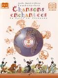 Arielle Vonderscher et Muriel Vonderscher - Chansons enchantées CM1 - Volume 3, Livre de l'élève. 1 CD audio