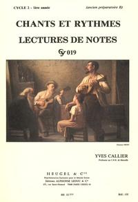 Chants et rythmes - Lectures de notes cycle 2 - 1re année.pdf