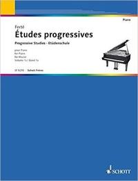 Armand Ferté - Etudes progressives piano.